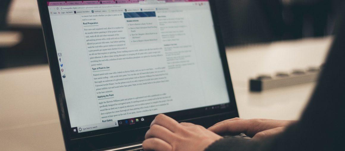 По съдържанието на блога ще познаете копирайтъра